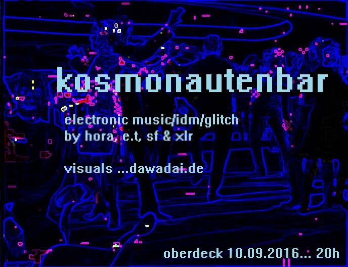 kosmonautenbar flyer final
